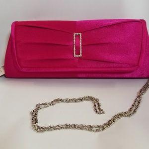 NWT Hot Pink Evening Clutch